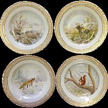 Flora Danica Game Plates