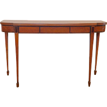 Hepplewhite Satinwood Console Table
