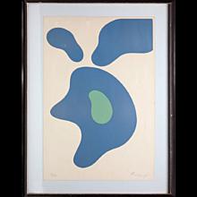 Arp Abstract Silkscreen