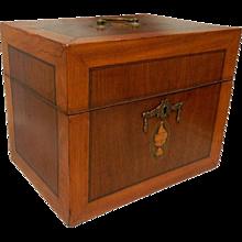 Dutch Liqueur Box Early 19th c.