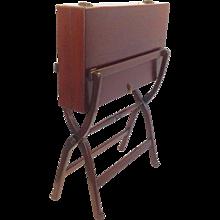 Mahogany Folding Desk or Table