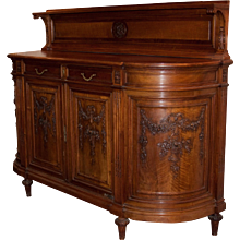 Antique French Carved Buffet