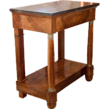 First Empire Mahogany Console