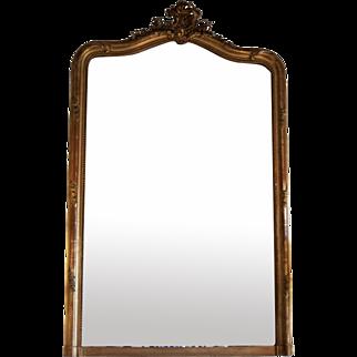 Louis XV Gilt Mirror C 1845-1865