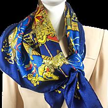 Hermes Silk Jacquard Scarf Luna Park NIB UNWORN w/BOX