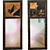 Pair of rare mirrors signed by A.J. Rowley, London