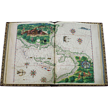 Atlas Vallard, one-time only facsimile limited edition
